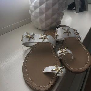 Women's size 8 Starfish sandals. New